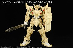 MG Knight Gundam Full Armor Mode Resin Conversion Kit (14)