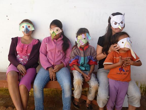 morning bird masks