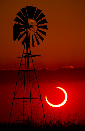 2012 Annular Solar Eclipse - Lubbock, Texas