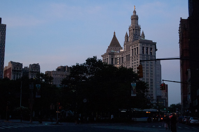 Manhattan Municipal Building. Photo by Ellen Brenna Dougherty.