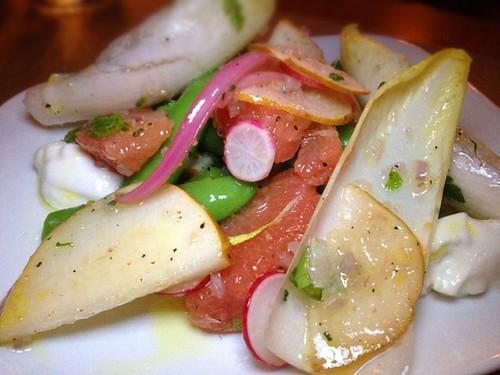 Sugar Snap & Pear Salad
