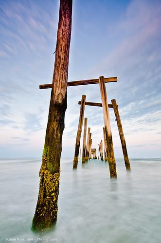 Broken Pier at Ocean City