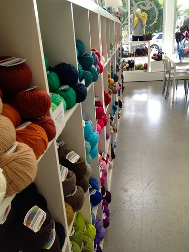 tangled yarns