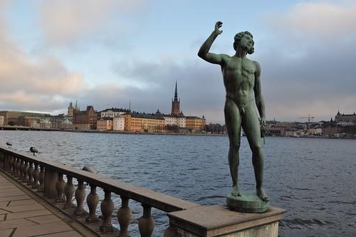 2011.11.11.320 - STOCKHOLM - Stadshusparken - Gamla stan - Riddarholmskyrkan
