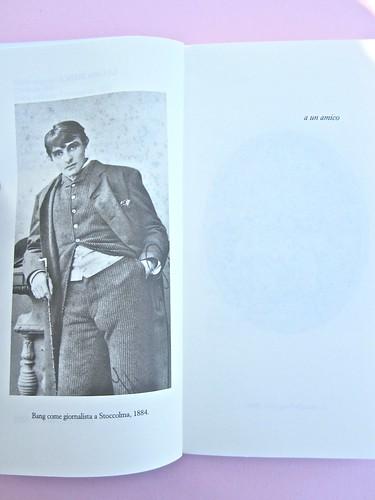 Herman Bang, La casa bianca. Iperborea 2012. [responsabilità grafica non indicata]. pagine 8-9 (part.), 1
