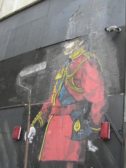 Street art by Mr Brainwash