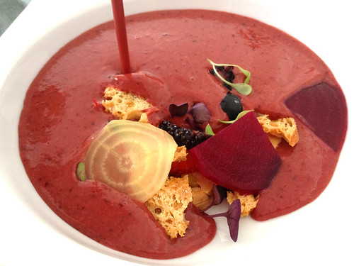 Summer Berry Gazpacho
