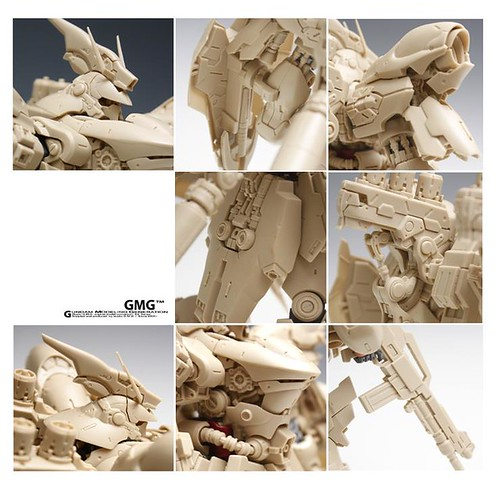 GMG 1-100 Sazabi Formania Version Resin Conversion Kit Complete Final Cast (19)