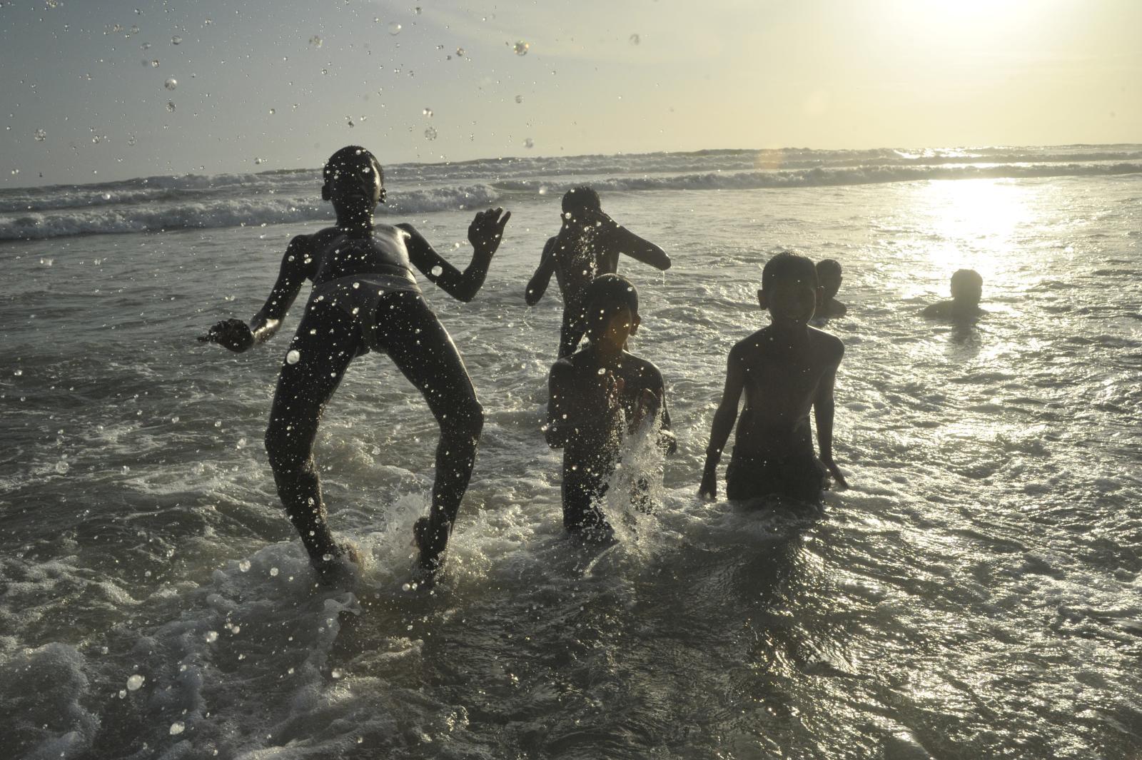 masti on the beach...