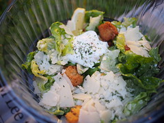 Caeser salad. The Singapore Repertory Theatre's Twelfth Night (Shakespeare in the Park), Fort Canning