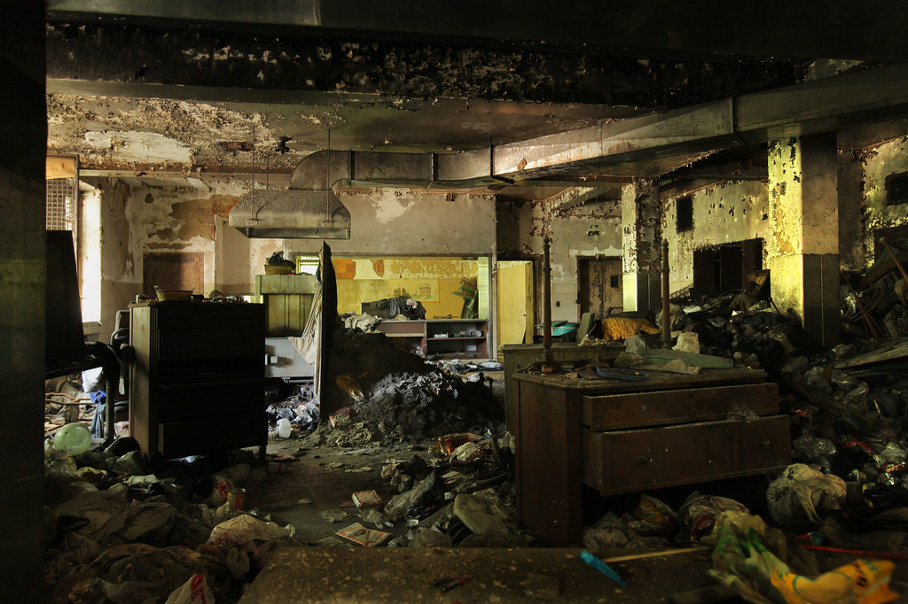 Inside Creedmoor State Hospital's Building 25
