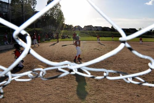 Henry's first baseball game