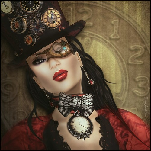 Face of NV Corsetry ~ Steampunk March ~ Puhi Rotaru ~ Headshot