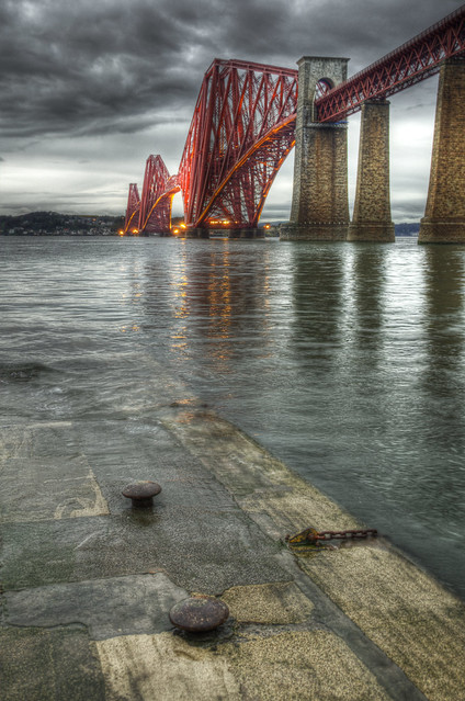 Forth Bridge in the Rain