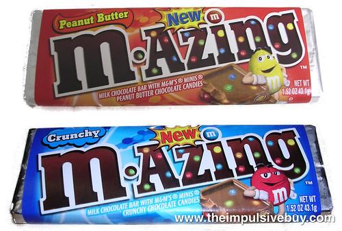 Peanut Butter M-Azing & Crunchy M-Azing