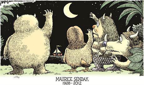 Goodbye to Maurice Sendak, by Sarah Van Tassel