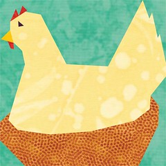 Sitting Hen