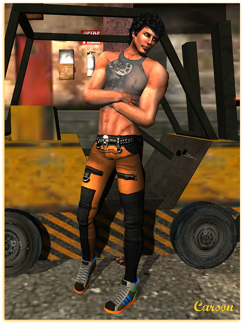 Goth1c0 Retribution pants, Ci Co - Shameless Shirt, Latreia - Mesh Kix