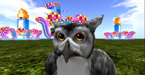 Owl sneak preview SL9B by Daniel Voyager - could there be cake?