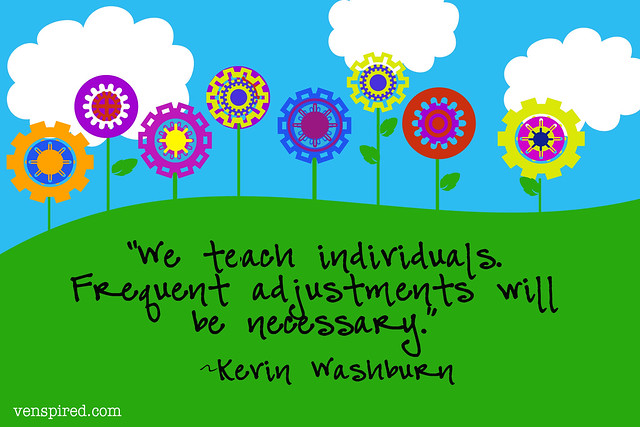 We teach individuals..