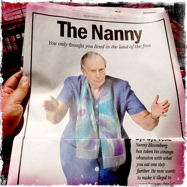 Bloomberg as The Nanny
