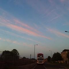 Great sky tonight. #nofilter