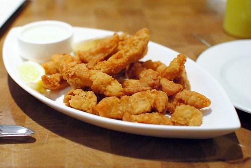 IPSWICH CLAMS Fried Crispy, Green Goddess Sauce