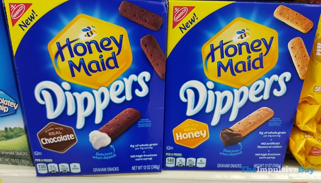 Honey Maid Dippers Graham Snacks (Chocolate and Honey)