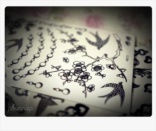 Temp Ink a la Chanel