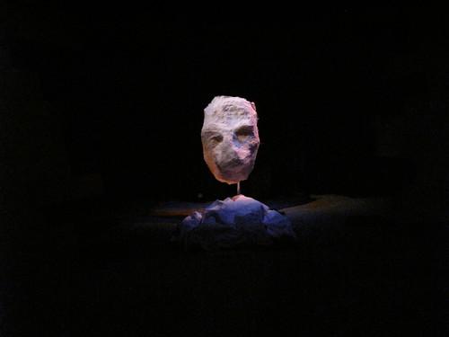 Light sculpture for Nuit Blanche - GO by pommeofgranite