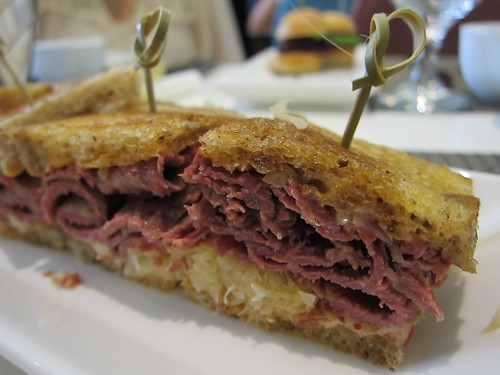 Reuben sandwich @ The Cake Club