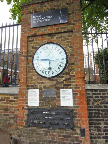 greenwich observatory official measures and time