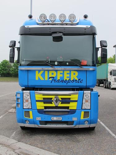 Renault Magnum - Kipfer, CH