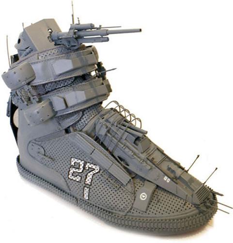 Gundam Warship Shoe