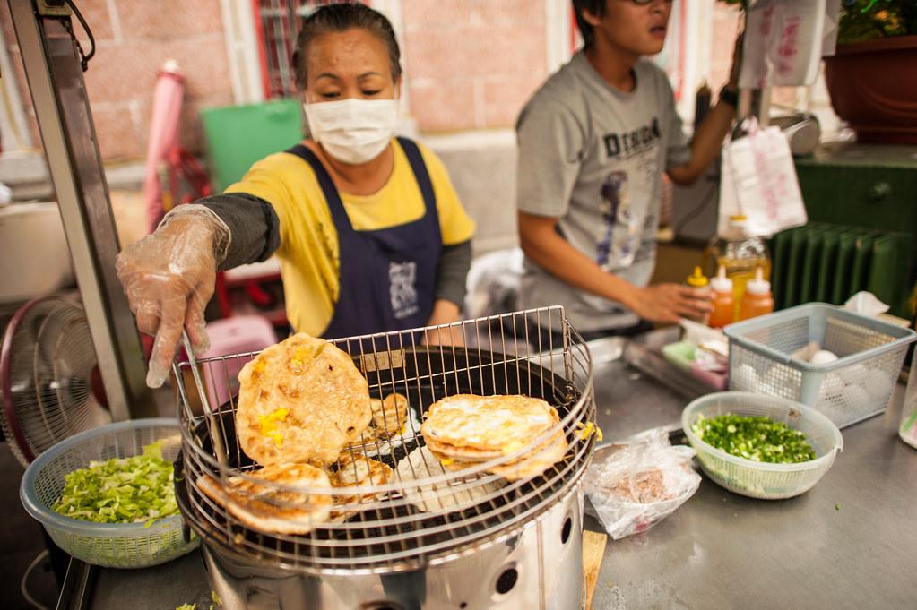 Cijin Island Scallion goodness