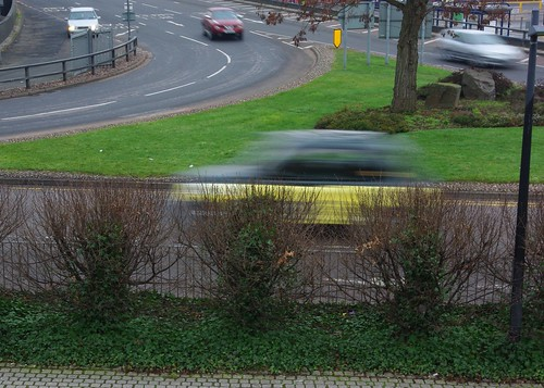 20120129-12_Coventry_A flash of Yellow - Taxi on White Street by gary.hadden