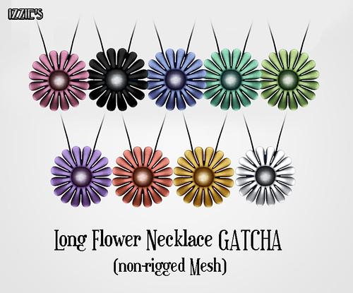 Long Flower Necklace (Gatcha)