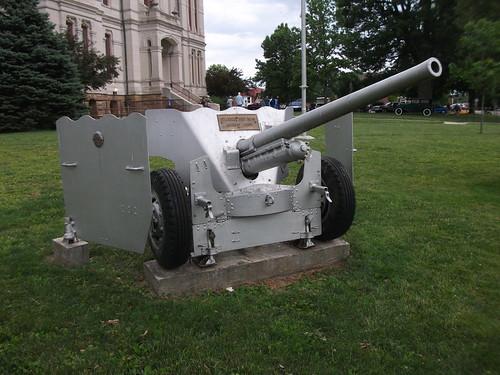 1940's International Harvester M-2 57mm Carriage Gun by cjp02