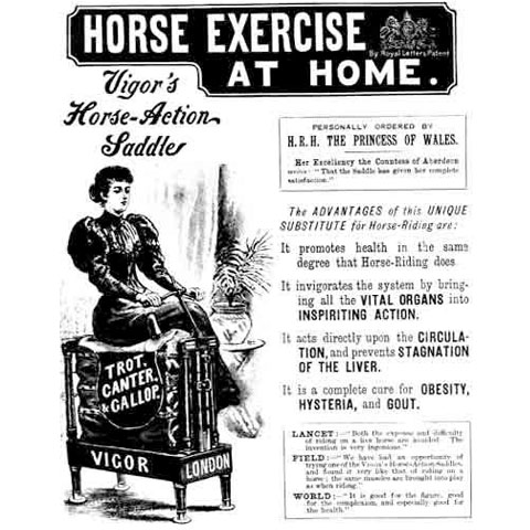 Vigor's Horse-Action Saddle