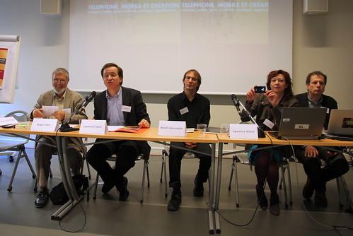 Mobile Creation -  Roger Odin, Laurent Creton, Benoit Labourdette, , Laurence Allard, Maurizio Ferraris