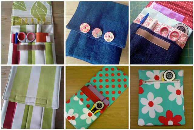 Travel Sewing Pouches