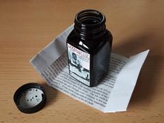 Ink Review - Noodler's Dark Matter