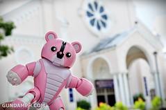 Pink Bearguy at Batac Church
