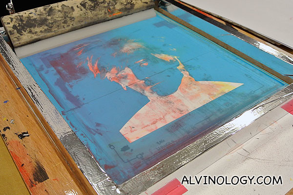 Andy Warhol silkscreen