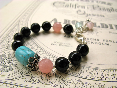 Take it Easy bracelet in rose