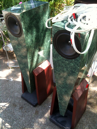 Awful retro speakers