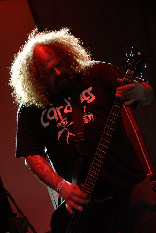 Shane Embury of Napalm Death
