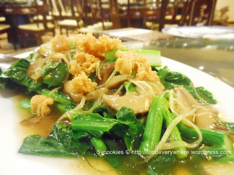 5.fried kailan in oyster sauce @nature vegetarian15