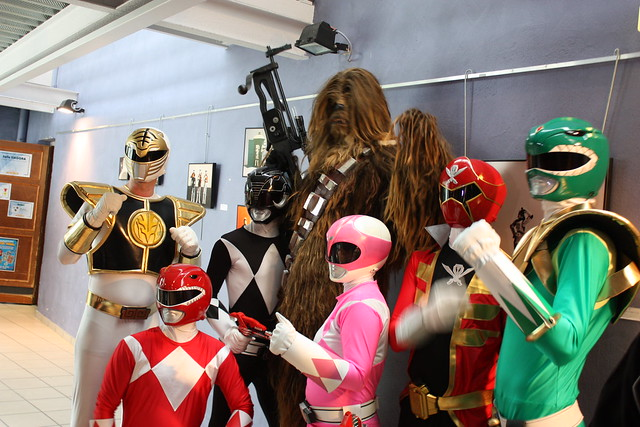Chewbacca & Power Rangers (!?)