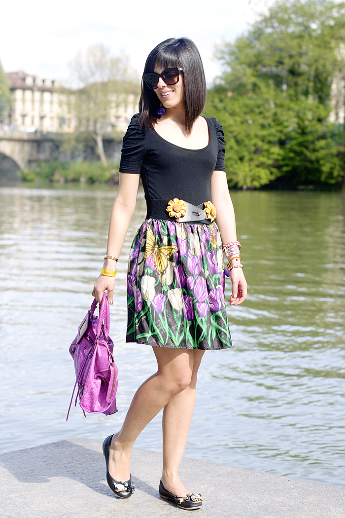 The sunflowers skirt